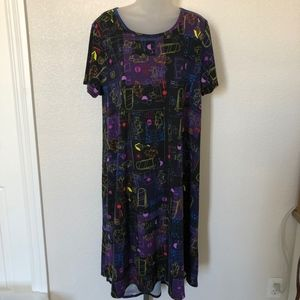 Lularoe Disney Winnie the Pooh Carly Dress 2XL